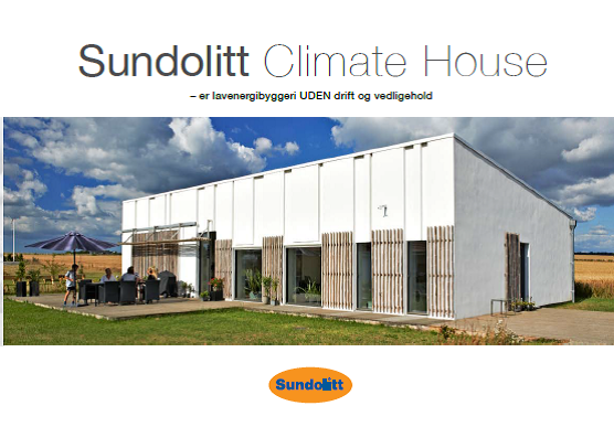 Brochure front Climate house
